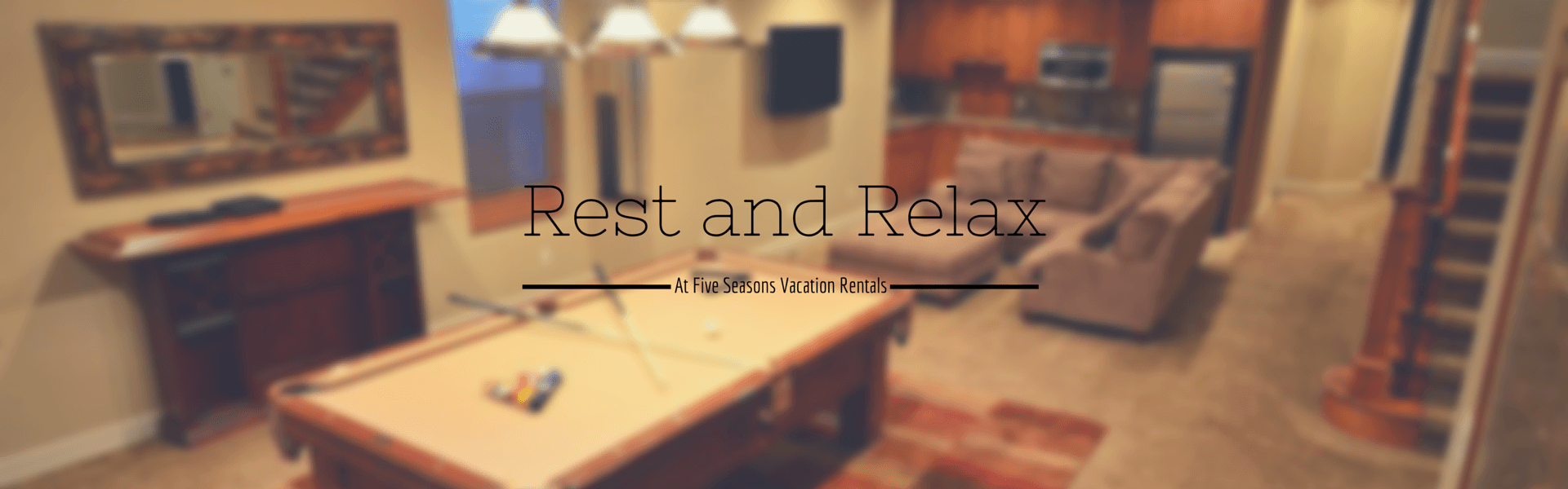 Rest and Relax at Five Seasons Vacation Rentals